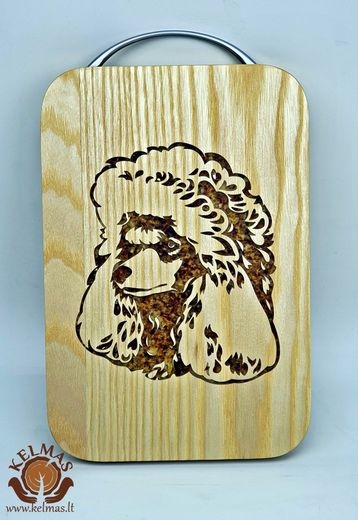 Cutting board Poodle